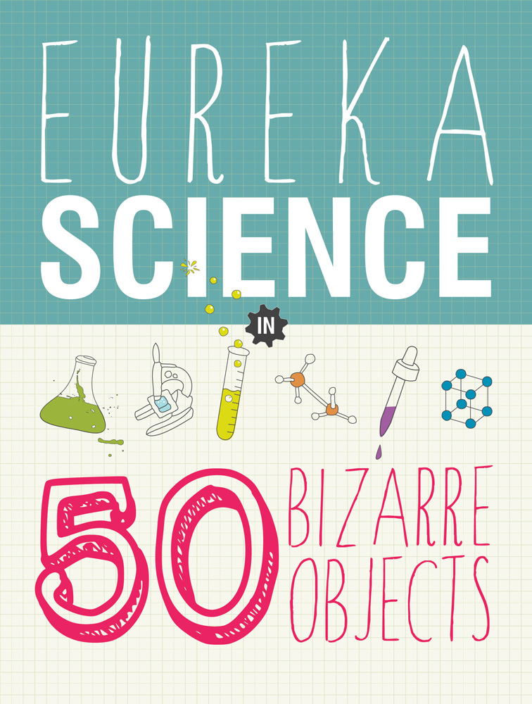 Book design for a children's science book cover