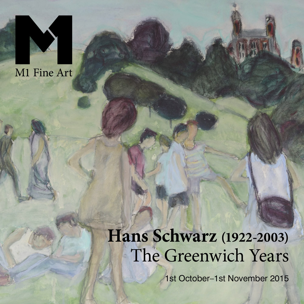 Hans Schwarz exhibition brochure cover