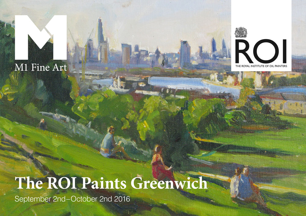 M1 Fine Art brochure for The Royal Institute of Oil painters