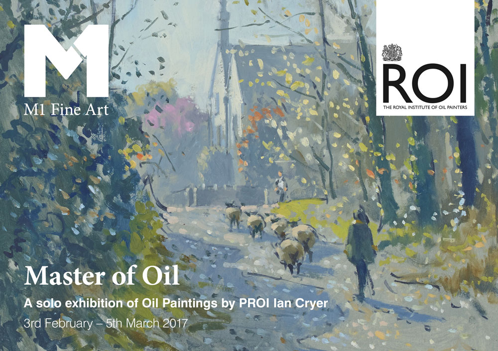 M1 Fine Art exhibition with The Royal Institute of Oil Painters and Ian Cryer