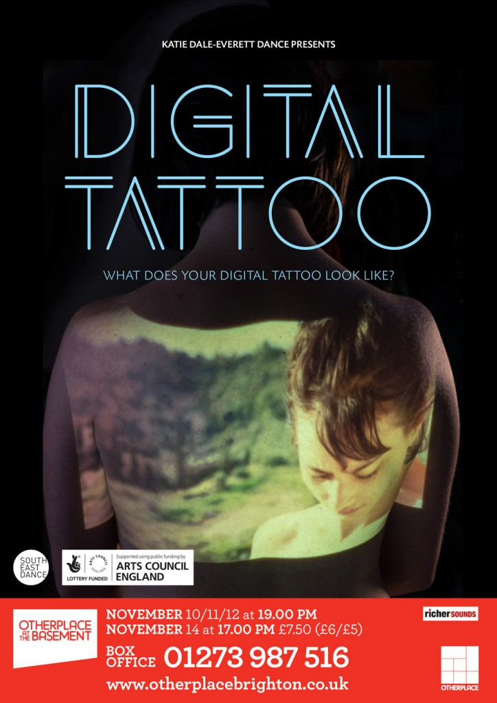 Promotional design for the Digital Tattoo poster